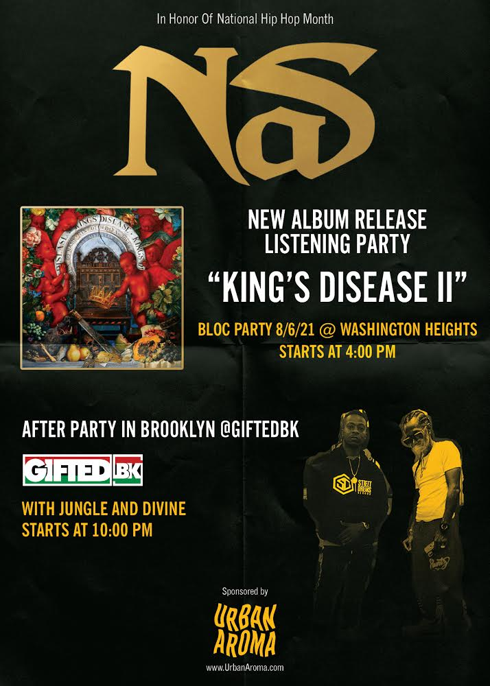 Nas Record Release After Party at Gifted BK